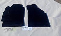 Резиновые ковры в салон перед. Chery QQ 03- (LUX) кт-2 шт.