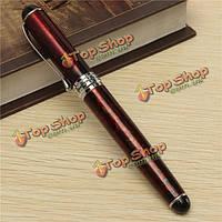 Цзиньхао х750 лавы красной ручкой средний штраф перо чернила перьевой ручки