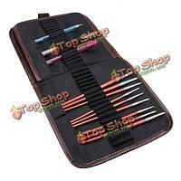72 отверстий пенал ручка инструмент сумка карман держатель щетки холст