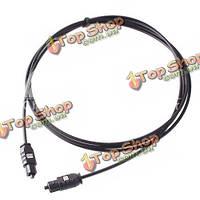 5 футов 1.5м цифровой оптический SPDIF волокна HD DVD аудио Toslink кабель