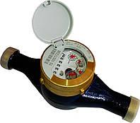 """Счетчик воды Sensus 420 Qn 10,0 (dy 40) 1 1/2"""" многоструйный мокроход для домов (Словакия)"""