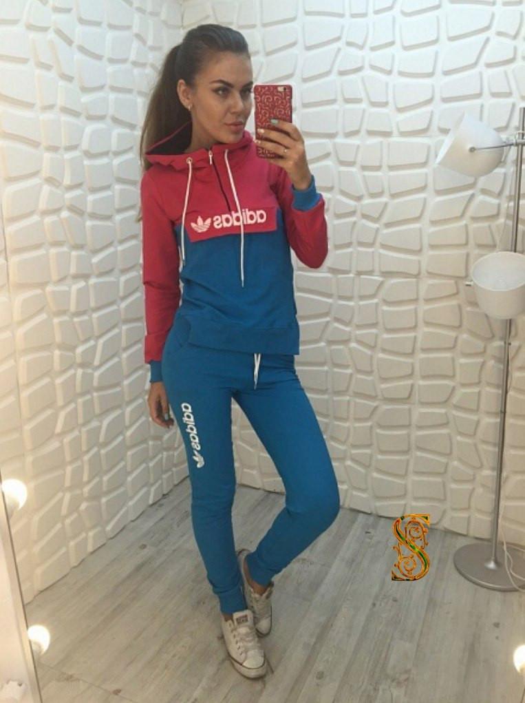 479b133c049277 Женский спортивный костюм с карманами и капюшоном: продажа, цена в ...
