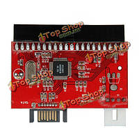 100/133 Serial ATA конвертер адаптер + кабель SATA 3.5 IDE HDD к