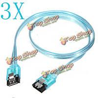 3.0 6 Гбит/с высокоскоростной кабель НЖМД прямо на диске компьютера SATA 3x50см