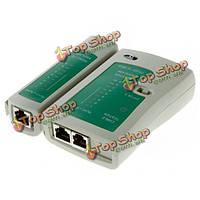 Сетевой кабельный тестер для RJ11 и rj12 RJ45 и кабель cat5