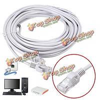 10м rj45 cat5e мужчины к мужчине ethernet сети lan кабель патч привести для pc