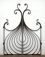Beautiful wrought-iron gates