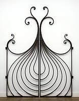 Beautiful wrought-iron gates