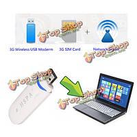 Сим-адаптер с интерфейсом USB 2.0 модем HSDPA 21mbps 3G беспроводной USB-модем стандарта GSM поддерживается GPRS в сетях UMTS край