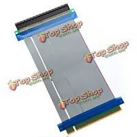 PCI-курьерское PCI-е 16х райзер карту гибкая лента-удлинитель
