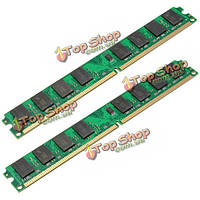 2шт 2Гб PC2-6400 240pin DDR2-800МГц DIмм оперативной памяти материнской платы AMD