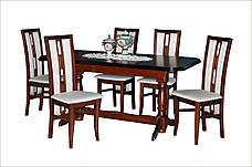 Стол обеденный раскладной  на двух ножках  Гранд  Fusion Furniture, цвет  орех, фото 3