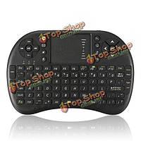 2.4G Mini беспроводная клавиатура мышь с сенсорной панели для ПК Андроид  телевизор для домашнего кинотеатра