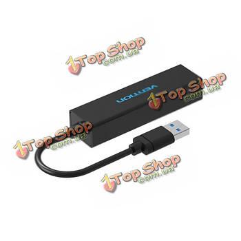 Конвен- VAS-J41 USB 3.0 4-портовый концентратор 1 до 4 никель функции металлизированный USB разветвитель OTG