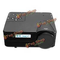 Эсюве h80 мини -> hd LED портативный проектор дома кино тв - поддержка ес разъем HDMI