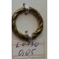 Кольцо косичка литое усиленное 14,5 мм (100 шт)