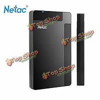Netac K218 USB 3.0 внешний жесткий NTFS диск 500GB 1tb анти-шок 5400rpm LED Свет
