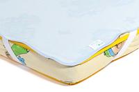 Непромокаемый наматрасник «Поверхность Premium» (в ассортименте, 70/140 см), Эко-Пупс