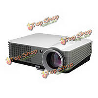Rigal РД-801 ЖК 2000 люмен с разрешением 800х480 HDMI-порта  VGA и AV для домашнего кинотеатра LED проектор ЕС Plug