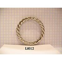 Кольцо косичка литое усиленное 35 мм (100 шт)