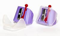 Одинарная точилка для косметических карандашей (violet) Butterfly , фото 1