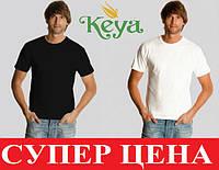 Мужская футболка легкая натуральный 100% хлопок KEYA MC130