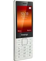 Телефон Prestigio 1280 DS White, фото 1