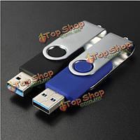64Гб Интерфейс USB 3.0 поворотный складной ручки памяти привода вспышки большого пальца руки U диск