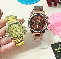 """Часы """"Данна"""", красивые с кристаллами."""