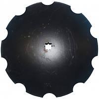 24x14N18DS Диск бороны, ромашка D=610 (N242047/B35607), JD637/650/512 (Nichols Tillage)