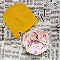 Набор: детская шапка Варе и шарф - снуд