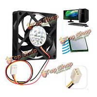 12v внутренний случай настольный компьютер охлаждения а Cooler Master 7см бесшумный вентилятор