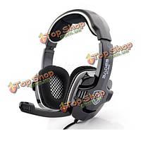 Sades SA-на 922 стерео игровые наушники с микрофоном для ПК PlayStation 3 PS3 и Xbox