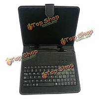 USB-клавиатура кожаный чехол сумка кронштейн с подставкой для 7-дюймов планшетный ПК