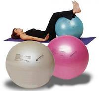 """Мяч для фитнеса """"GYM BALL"""". Диаметр 65 см. Максимальная нагрузка 130 кг."""