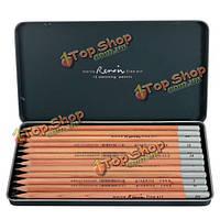 Марко Ренуара изобразительного искусства 12 штук Эскиз писать нетоксичный набор карандашей олова