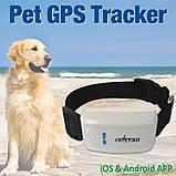 Mini GPS Трекер с Воротником Водонепроницаемый Реального Времени  Чип для Домашних Животных, фото 8