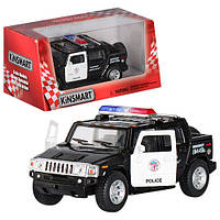 Машинка метал КT 5097WP /HUMMER H2 SUT(POLICE) /