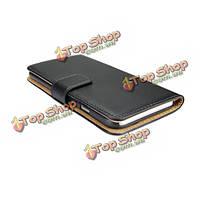 Original роскошь настоящая кожа Flip бумажник обложка чехол для iPhone 6 Plus