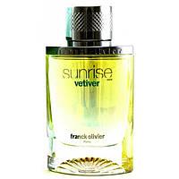 "Туалетная вода Frank Oliver ""Sunrise Vetiver"""