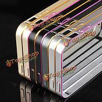 Ultra тонкий алюминиевый металлический бампер рамка чехол для iPhone 6