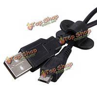 6xпластиковые кабель провод шнур клип исправления крепежа организатор держатель