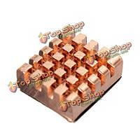 8шт памяти медный радиатор для DDR DDR2 на DDR3 оперативной 12x13x5мм