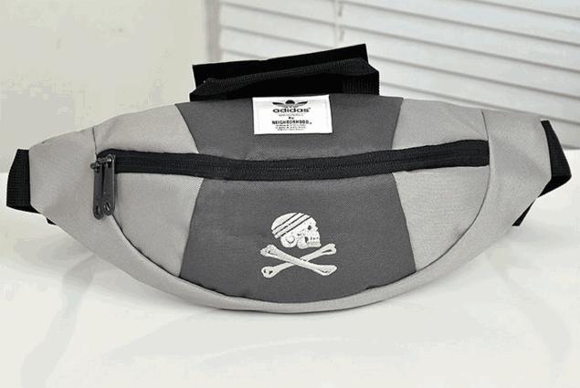 Сумка на пояс Adidas Originals (серая) сумка на пояс
