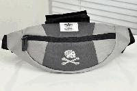 Сумка на пояс Adidas Originals (серая) сумка на пояс, фото 1