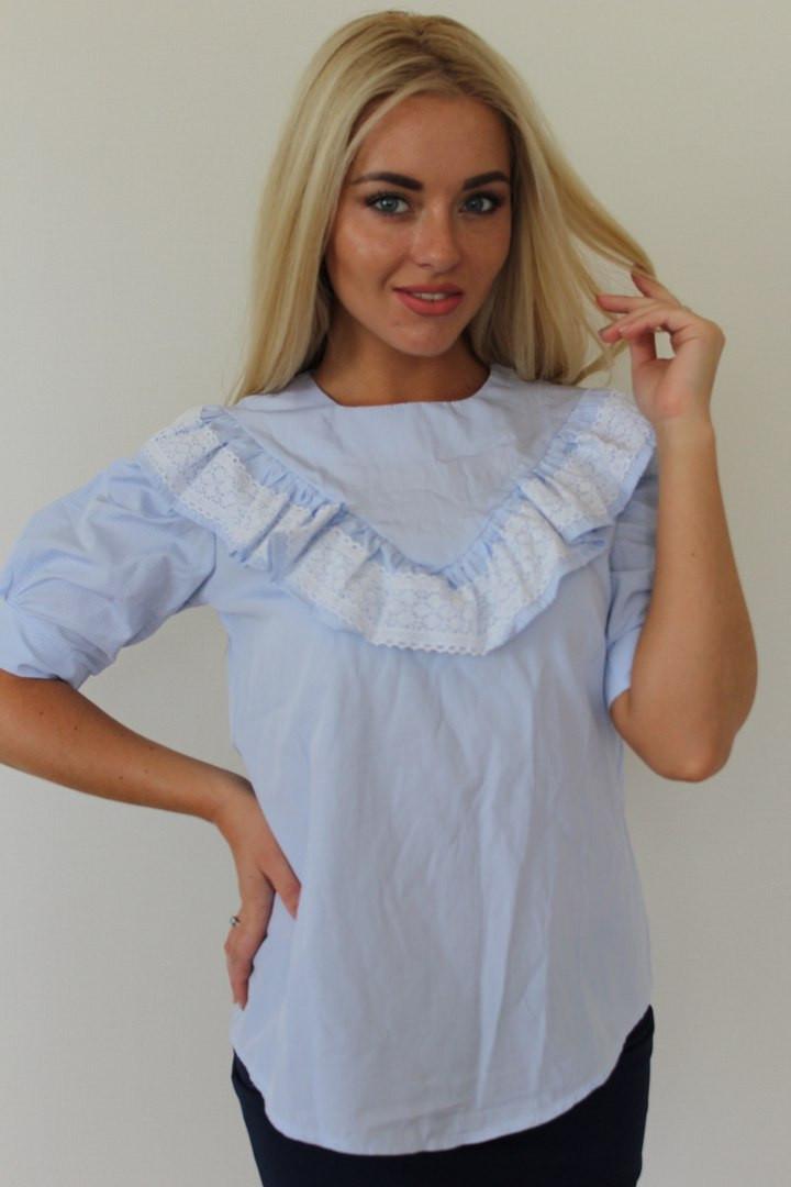 Женская блуза из турецкого хлопка