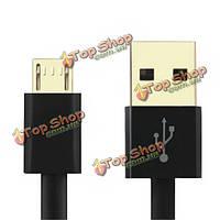 1.0м USB 2.0 Micro-USB быстрой зарядки линии передачи данных для андроид телефонов и планшета