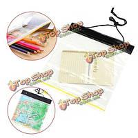 ПВХ прозрачный водонепроницаемый GPS карта крышка случая телефона держателя сумка документ