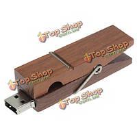 2г 8Гб 4G с интерфейсом USB2.0 коричневый Тип зажима высокоскоростной флэш-диск