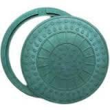Люк канализационный круглый, фото 1